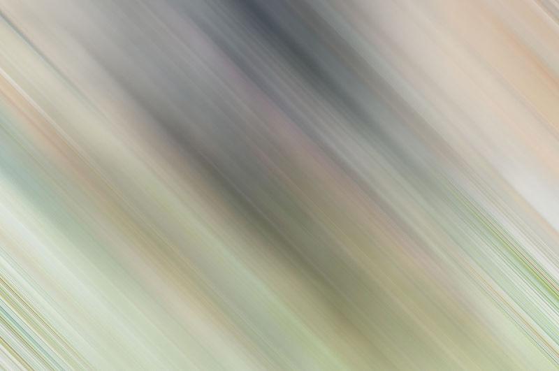 Defocused image of blurred motion of train