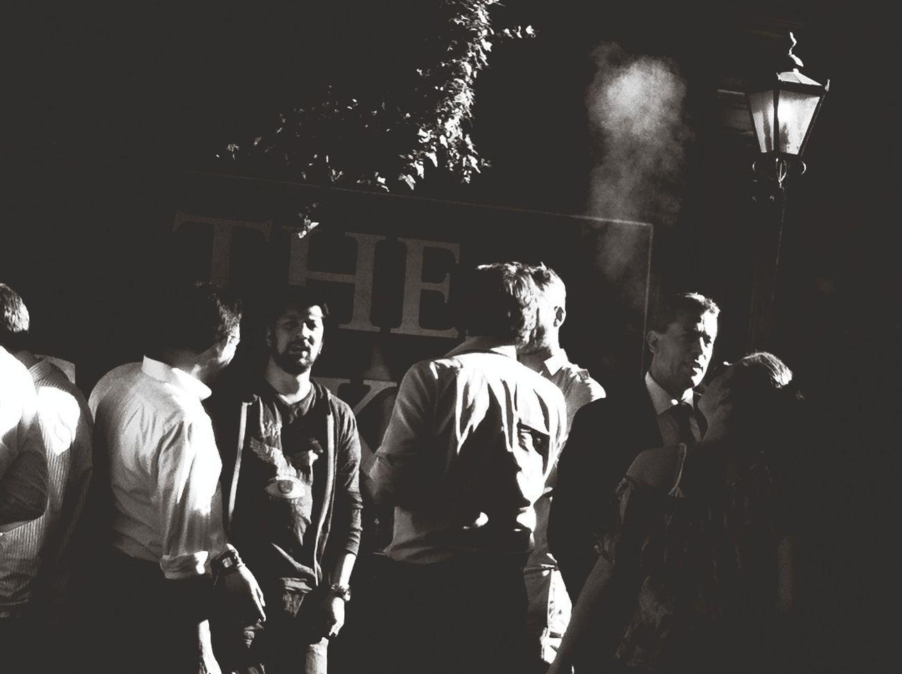 lifestyles, men, illuminated, large group of people, night