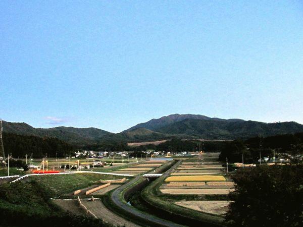 すごく景色の良い道の駅中山盆地。