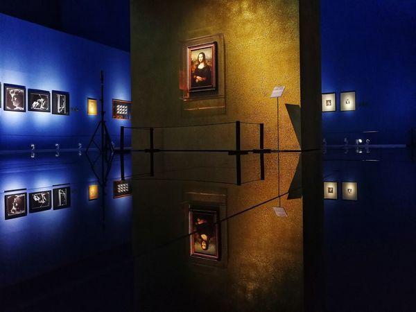 贝利尼家族与文艺复兴 Italy🇮🇹 Mobilephotography Lifestyle EyeEm Da Vinci Light Exhibition Art Renaissance Medici Mona Lisa
