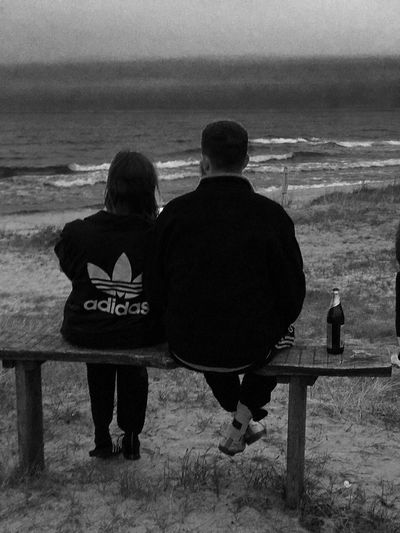 Two People Sea Beach Love The Week On EyeEm Investing In Quality Of Life
