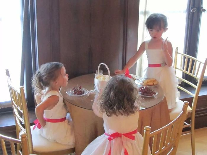 Wedding Photography Flower Girls So Adorable Priceless Moment