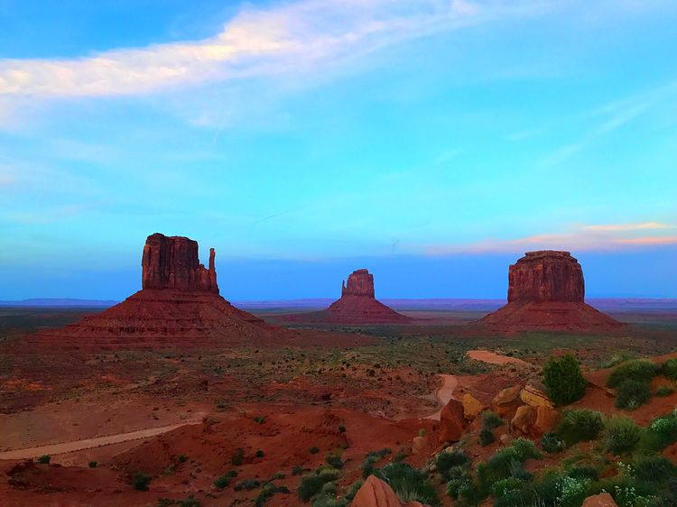 Geology Nature Sky Landscape Tranquil Scene Tranquility Beauty In Nature No People Desert Scenics Blue Outdoors Arid Climate Day Monument Valley Monumentvalley Monumentvalleynavajotribalpark Monument Valley Tribal Park Monument Valley,Utah USA Monument Valleu,NorthernArizona Monument Valley, Navajo Nation