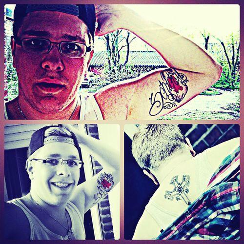 Jeder von uns ist Kunst: gezeichnet vom Leben Tattoos TattooLove Inked That's Me