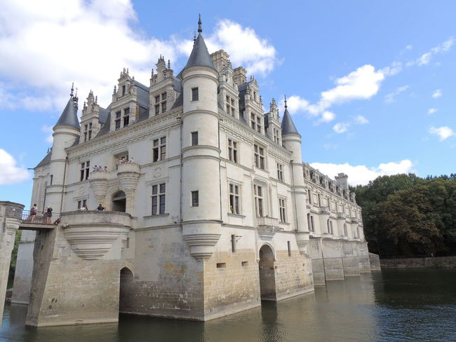 Chenonceau Chenonceaux Loire Loire Valley France Building Exterior Built Structure Architecture Sky Cloud - Sky Building Water Nature History The Past Place Of Worship Low Angle View Travel Destinations Religion Belief Travel Spirituality No People Outdoors Spire
