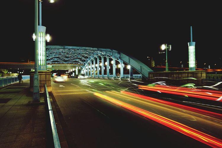 Streetphotography Street Art Blury Blurred Motion Bridge