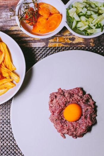Food Porn Awards Tartate Egg Big Chunks Of Meat
