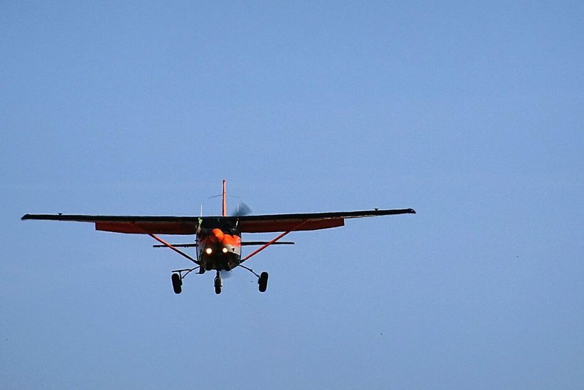 Flying Airplane Altitude Vol Atterrissage Aviation Avions