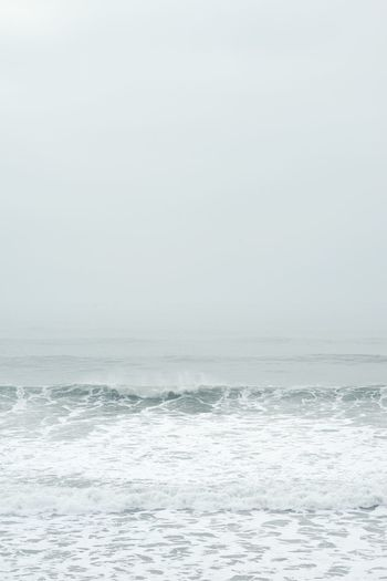 Sea Water Nature Wave Beauty In Nature Waterfront Tranquility Horizon Over Water Textures And Surfaces Nature TheWeekOnEyeEM EyeEm Best Shots EyeEm Best Edits EyeEmBestPics Minimalist Minimalism Minimalobsession Minimal Fog Foggy Foggy Morning