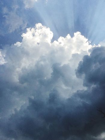 Cloud - Sky Sky Cloudscape Nature Beauty In Nature Atmospheric Mood Low Angle View Sky Only Tranquility No People Day Scenics Backgrounds Outdoors