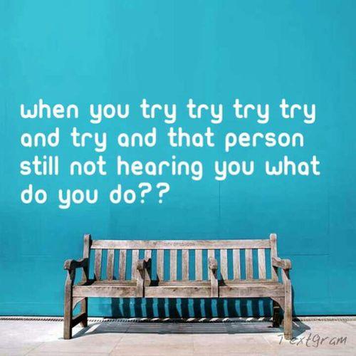 Im Trying....