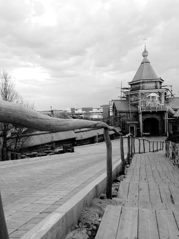 Wooden Orthodoxy Temple / Church in Murmansk, Russia | Architecture Wooden House Religion Religious Architecture