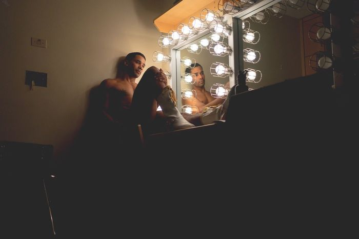 Dressing Room 13 Selfportrait NewYorkCityBallet Dancer Dressing Room Mirror OpenEdit My Best Photo 2015
