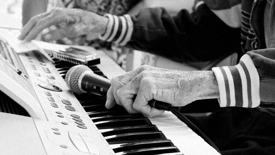 Human Hand Music Close-up Musician Music Has No Age