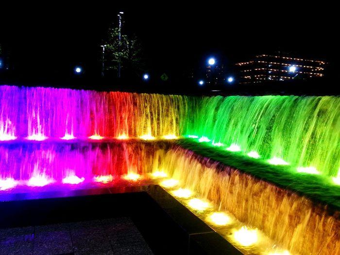 Cities At Night Cincinnati Smartphonephotography