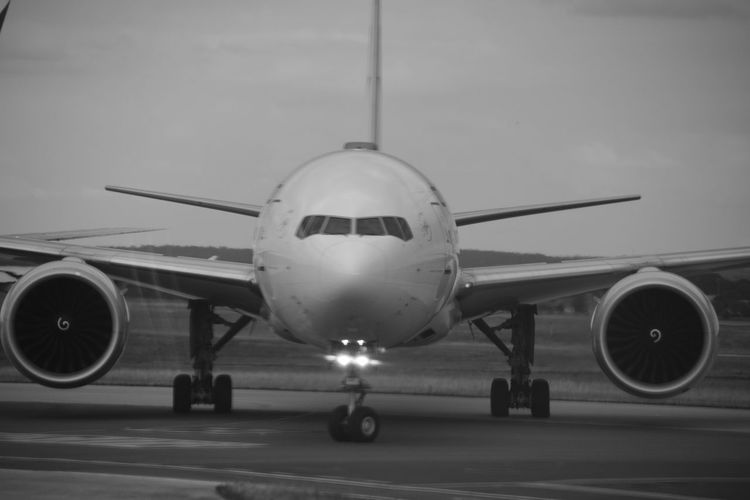D O O R T O F R E E D O M~ Charles de Gaulle Airport, Paris Airport Airplane Air Vehicle Transportation Commercial Airplane Travel Blackandwhite Black And White White Airplane Paris, France  Charles De Gaulle