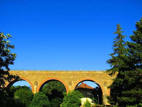 Viadukt Aquaduct Aquädukt Wien Vienna Austria Liesing Viaduct Clear Sky Sunny Built Structure Architecture Arch