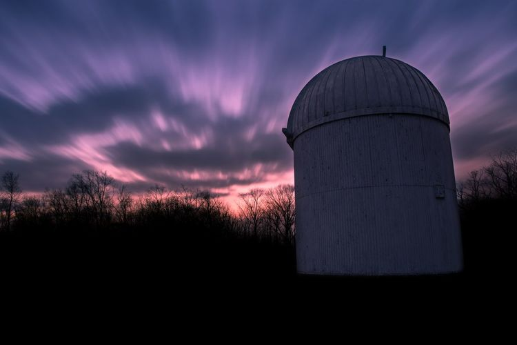 Observe. Cloud - Sky Architecture Astronomy Sky No People Astronomy Telescope Outdoors Observation Point Observatory Motion Blur Color Colorful Long Exposure Sunset Split Toning EyeEm Best Shots EyeEm Masterclass EyeEm Best Edits Clouds Sky_collection Clouds And Sky Landscape Skyline Nature Outdoor Photography