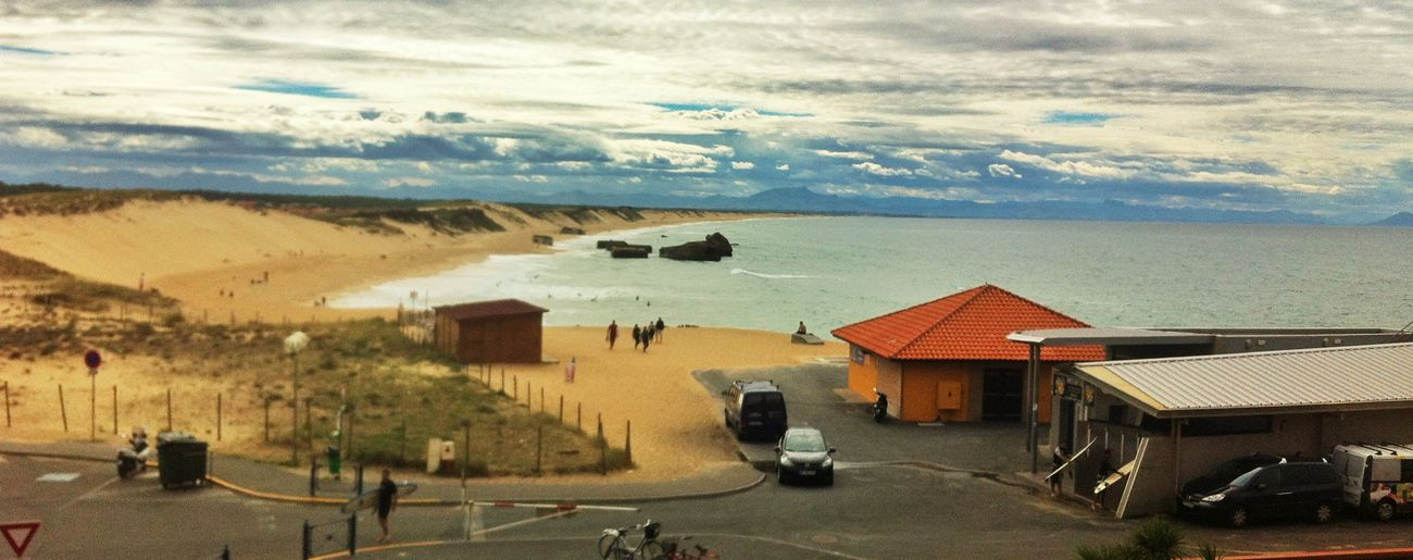 Cers Surf Capbreton View Waves Beach France