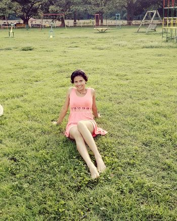 Pink Beutiful Girl Sonrisa Dia Verde