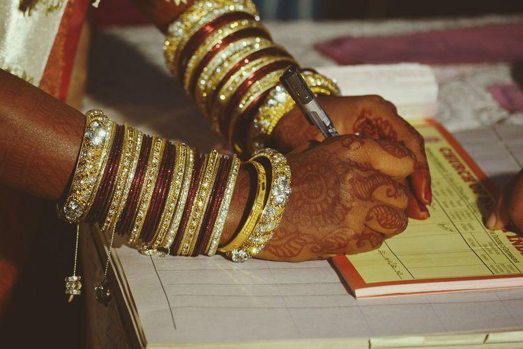 Showcase March Q Bride Wedding Bangles Church Signature Churchofnorthindia. IndoorPhotography Day Cni.church Ranchi Jharkhand India Golden Bangles StPaulscathedral Nikon Querida Anewbeginning Myfavoritephoto