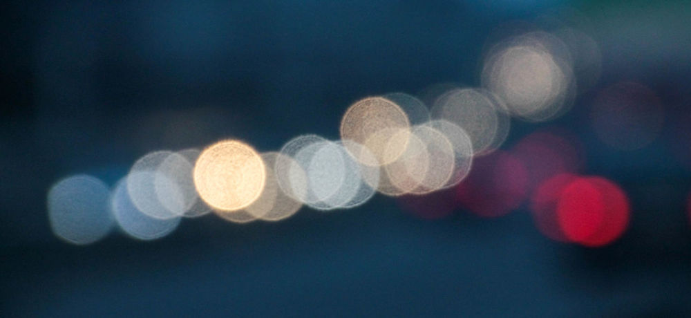Abstract Bokeh Circle Close-up Depth Of Field Full Frame Glowing Selective Focus
