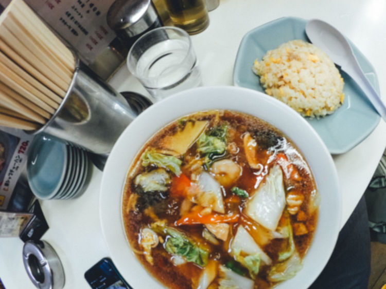 Bowl Chinese Food Close-up Day Directly Above Food Food And Drink Freshness Fried Rice Healthy Eating High Angle View Indoors  Japanese Culture No People Plate Ramen Ready-to-eat Restaurant Table