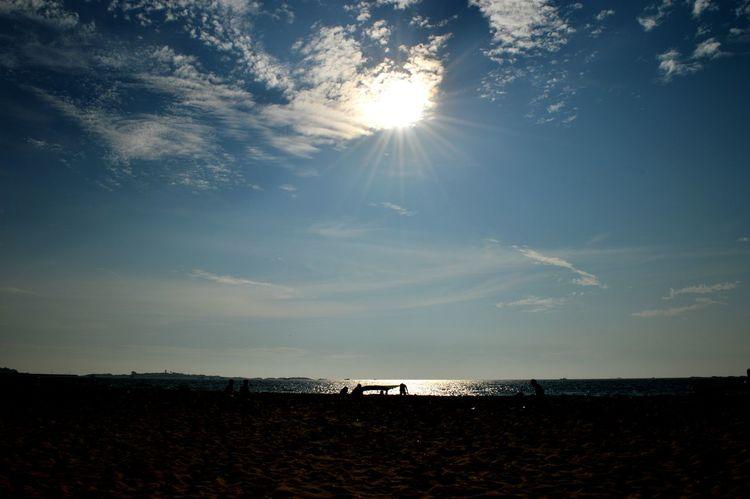 Hide And Seek Clouds And Sky Sun Sunset Beach Malpe Beach India