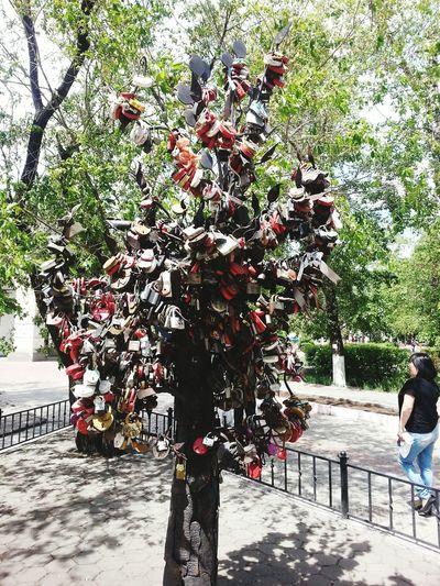 Love Padlocks Ulan-Ude Buryatia Tour