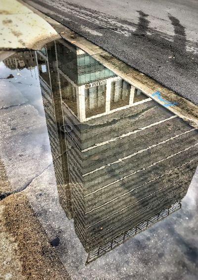 Reflections Reflections In The Water 💦 Rainy Days in Chicago 🌧🌧 Architecture Architecture_collection Street Streetphotography Urban Urban Landscape 🏙 Urbanphotography Puddle City City Street Cityscapes Highrise Skyscraper EyeEm EyeEm Best Shots Eye4photography  Eyeemurban EyeEm Gallery IPhoneography Iphoneonly Perspective