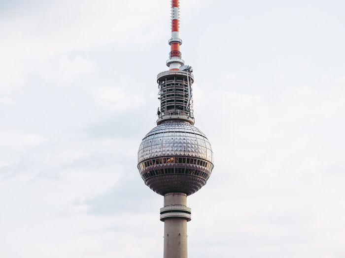 Fernsehturm (Television Tower) in Berlin Alexanderplatz Architecture Berlin Fernsehturm Fernsehturm Berlin  TV Tower Television Tower - Berlin Architecture Deuschland Landmark Television Tower Tower