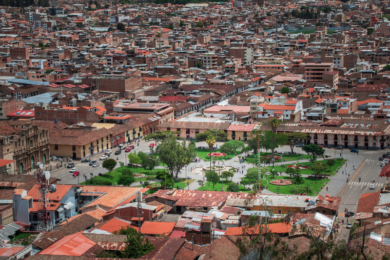 Building Exterior Architecture Built Structure City Residential District Building Crowd Roof High Angle View Crowded Community Town House Day Nature Outdoors Full Frame Aerial View Cityscape TOWNSCAPE Inca City South America
