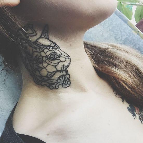 Tattoo New Tattoo Tattoogirl My Tattoo Love My Tattoo Cat That's Me
