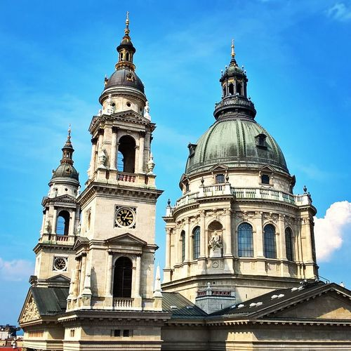 #ariahotel #Basilica #budapest #highnoteskybar #phonephotography Architecture Building Exterior Built Structure City Day Dome No People Outdoors Place Of Worship Religion Sky Spirituality Travel Destinations