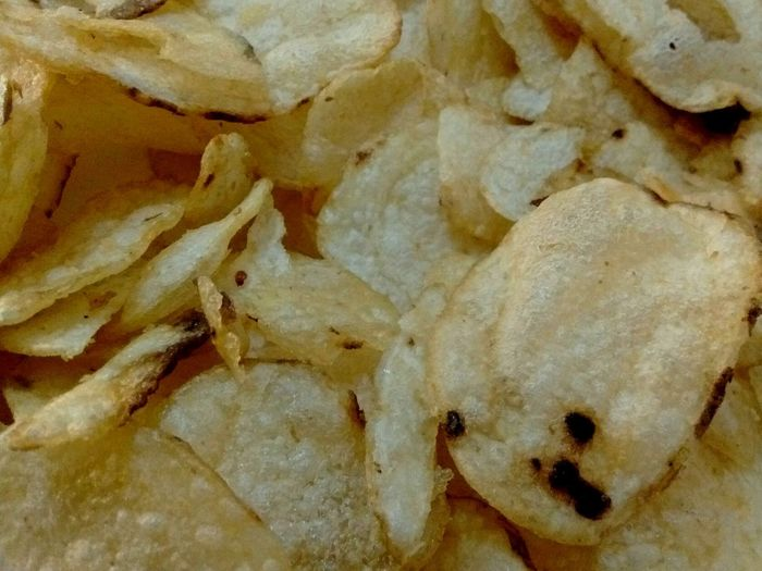 Patatas chips. Full Frame Backgrounds Close-up No People Pattern Textured  Indoors  Yellow Day Abstract Solid Fossil Wall - Building Feature Nature Rock Mineral Rock - Object Rough Chips Patatasfritas Patataschips Patatas Fritas😍chips Food Aperitivo Time Aperitivo