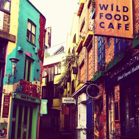 Colours Neal's Yard Seven Dials London