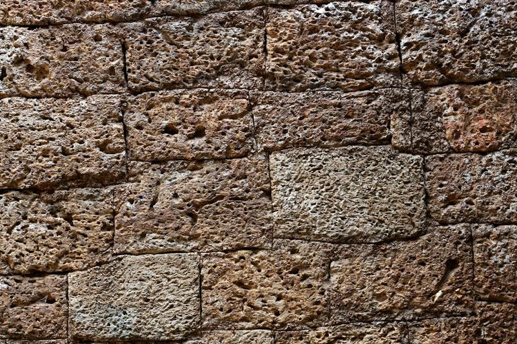 Angkor Thom Angkor Thom, Siem Reap, Cambodia Backgrounds Brick Bricks In The Wall Close-up Cracked Day Full Frame Nature No People Outdoors Pattern Textured  Volcano Bricks Volcanoes Brick