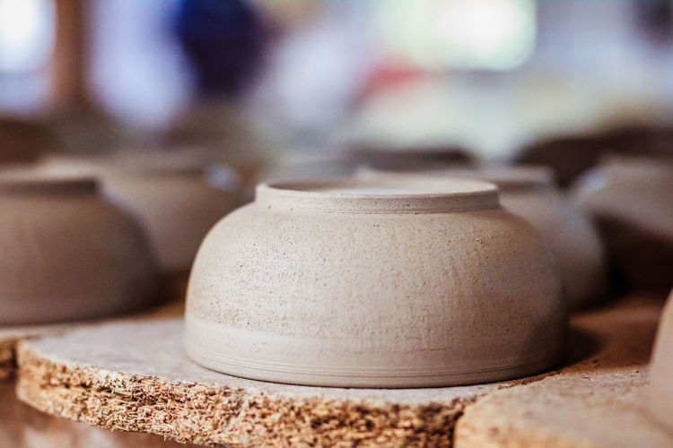 DIY Kenya Bowl Clay Clay Work Close-up Day Earthenware Factory Focus Focus On Foreground Handwork Indoors  No People Pottery Sand Selective Focus Skilled Workshop Business Stories EyeEmNewHere