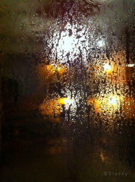 Rainy Days Light Night Lights Reflected Glory