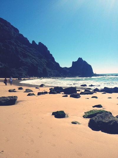 Beachday Wonderful Praiadaluz, Algarve, Portugal Sunday