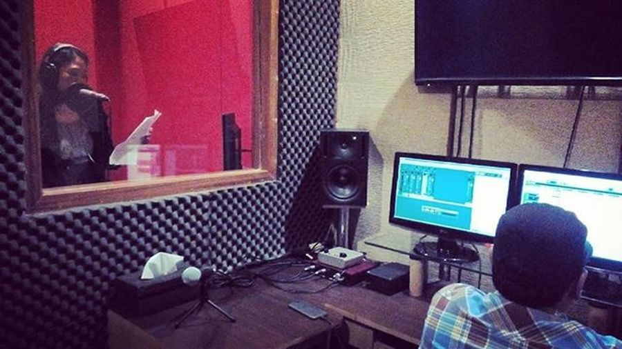 RECORDING THE SCRIPT Oyikk Partofjob Film Instadaily Nuendo