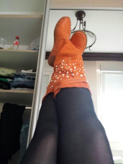 Street Fashion My New Boots