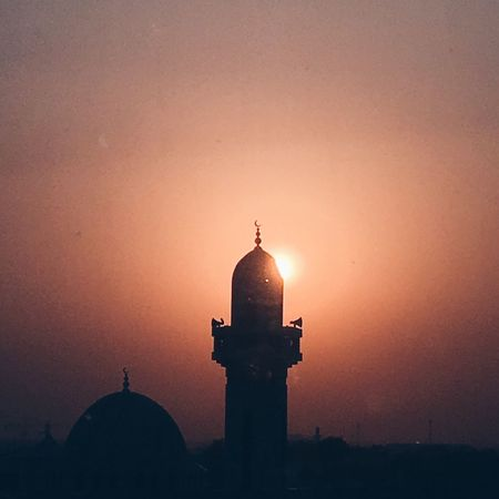 Architecture Dome Built Structure Sunset Religion Building Exterior No People Place Of Worship Outdoors Sky Day Qatar Qatarlife