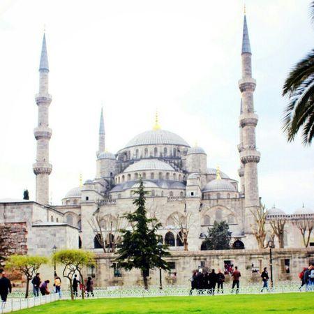 رحلةتركيا اسطنبول جامع السلطان احمد