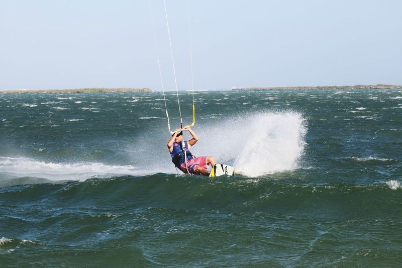 www.kiteschoolprosylt.de Kitesurf Oneheart Goodlife Sylt Kite Kiteboarding Kitesurfen Africa Zanzibar Tanzania Africa Wanderlust Water Sea Leisure Activity Motion Lifestyles Real People Splashing