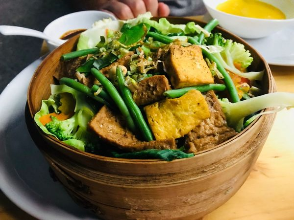 Serving Size Delicious Vegan Vegetarian Food Tofu Food Food And Drink Healthy Eating Freshness Ready-to-eat Wellbeing Bowl Vegetable Meal Asian Food