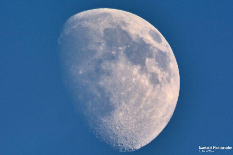 The Week On Eyem Blue Moon Moon Opteka Blue Sky Sky And Clouds Awwlook