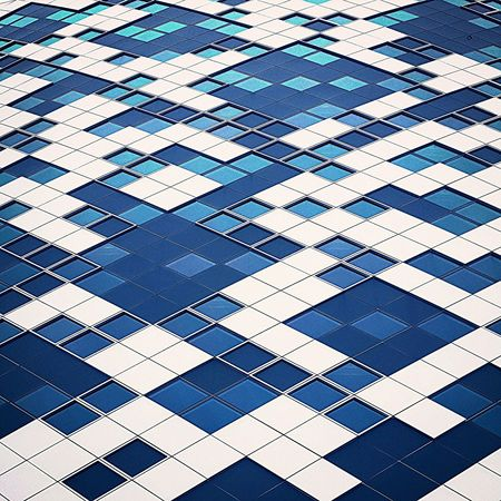 Airport Schiphol New Version Hilton Hotel Backgrounds Pattern Full Frame Square Shape Abstract Blue Textured Effect Textured  Close-up Architecture City No People Outdoors Day