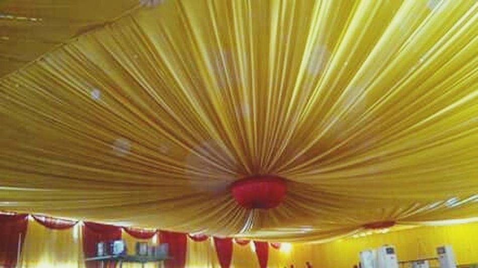 Yellow colour .wedding hall ceelingMy Work Gdnyt✨💕 Indian Wedding Goodnight✌ WeddingPlanner Wedding Decor Wedding Photography Goodnight Wedding Hall Working