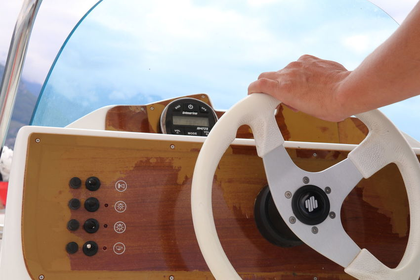 Ann France Lake Annecy France  Wheel Close-up Hand Human Hand Motorboat One Person Outdoors Real People Sky Steering Wheel Summer The Week On EyeEm Second Acts This Is Masculinity Go Higher